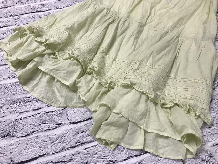 カーサフラインのインド綿フレアスカート