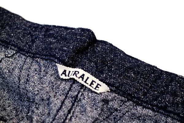 AURALEE(オーラリー)/人気のシルクデニム。