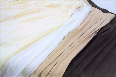 「元住吉のプリーツスカート 」