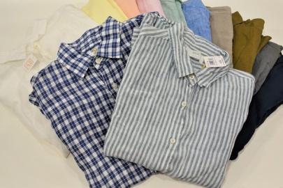 「元住吉のリネンシャツ 」
