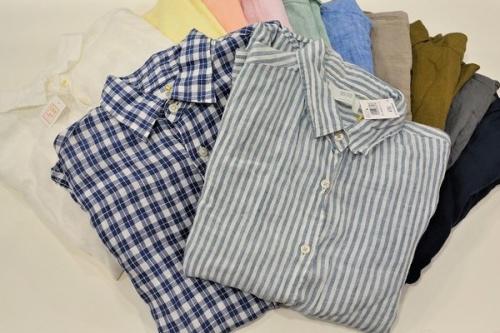元住吉のリネンシャツ
