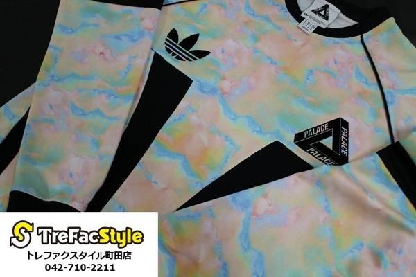 攻めてるゲームシャツ入荷いたしました!!!adidas Originals by PALACE!!!