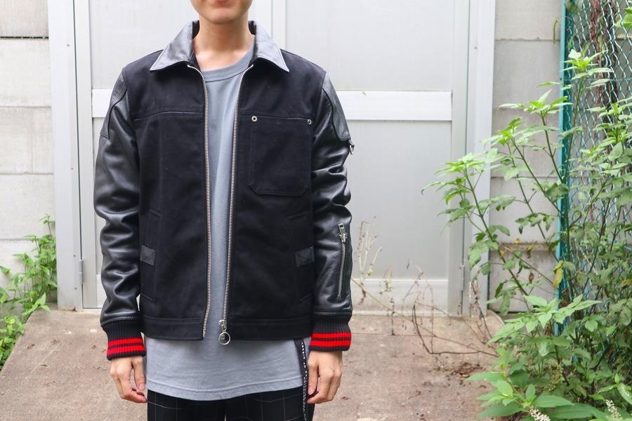【DIESEL/ディーゼル】から、18AWレザーミックスジャケット入荷致しました!!