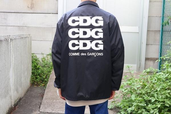 【COMME des GARCONS コーチジャケット】が入荷致しました!!