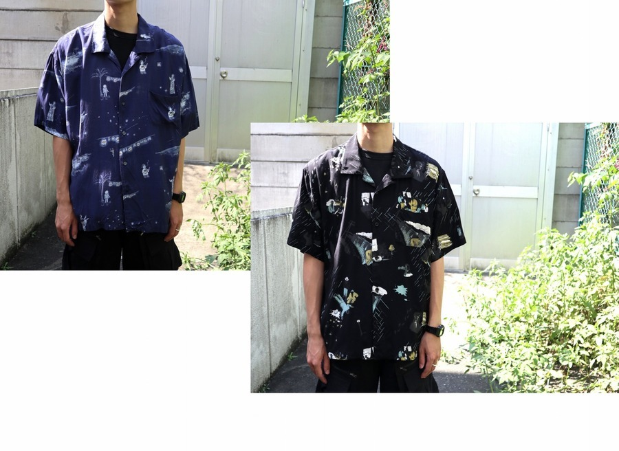 憧れの【PORTER CLASSIC/ポータークラシック】から、大人気のアロハシャツが2点入荷致しました!!