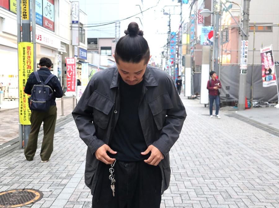 最上級の素材感を!!【AURALEE/オーラリー】からWASHED FINX RIPSTOP FATIGUE JACKET入荷!!
