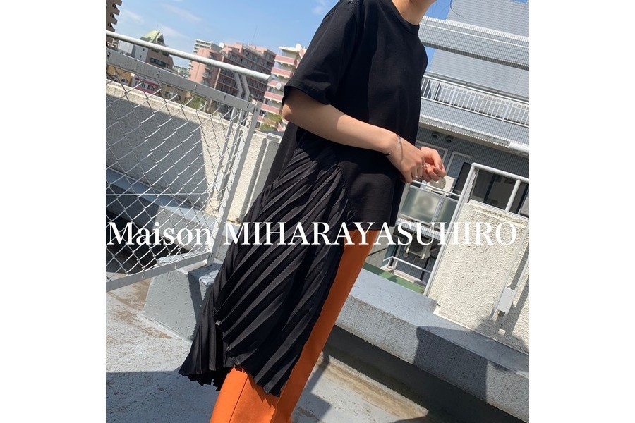 「ドメスティックブランドのMAISON MIHARA YASUHIRO 」