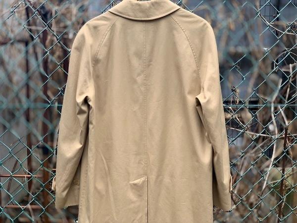 Burberrysのステンカラーコート