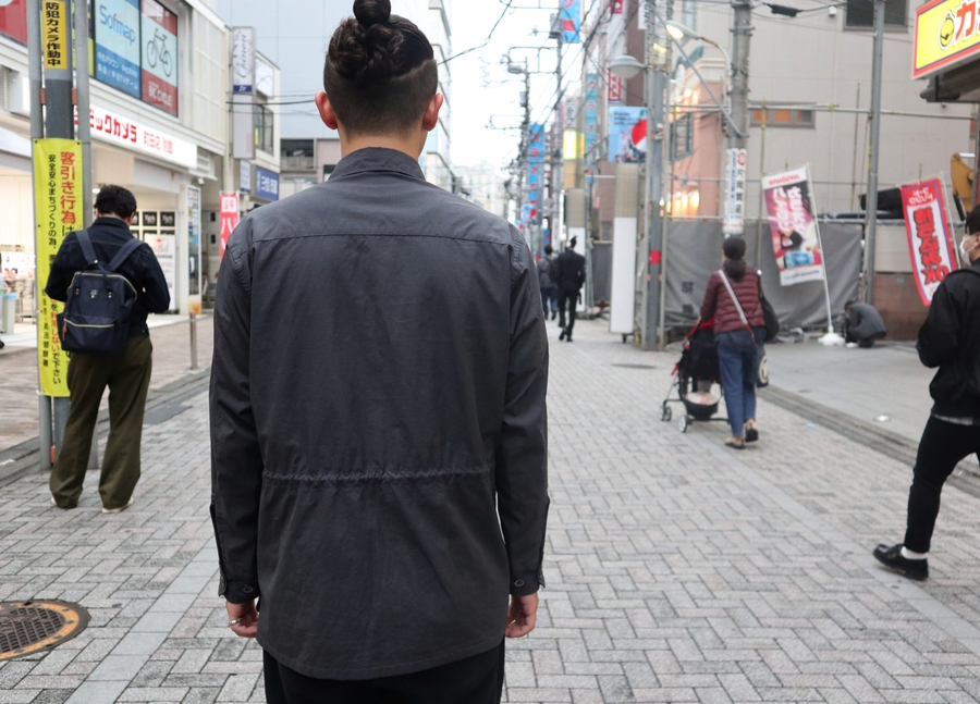 WASHED FINX RIPSTOP FATIGUE JACKETのメンズ