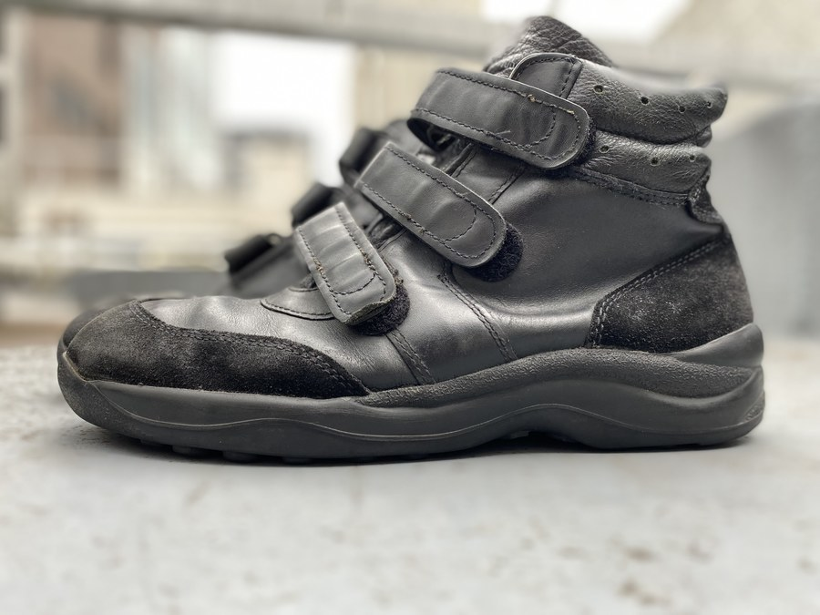 ジャーマンアーミーのGerman Air Force Velcro Pilot Shoes/ミリタリーエアフォースベルクロパイロットシューズ