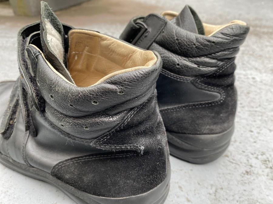 German Air Force Velcro Pilot Shoes/ミリタリーエアフォースベルクロパイロットシューズのUK GEAR XC-09/トレイルスニーカー