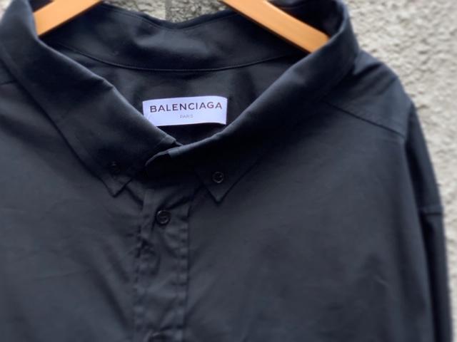 BALENCIAGA(バレンシアガ)より、ロゴ刺繍スウィングカラーシャツ入荷しました!!