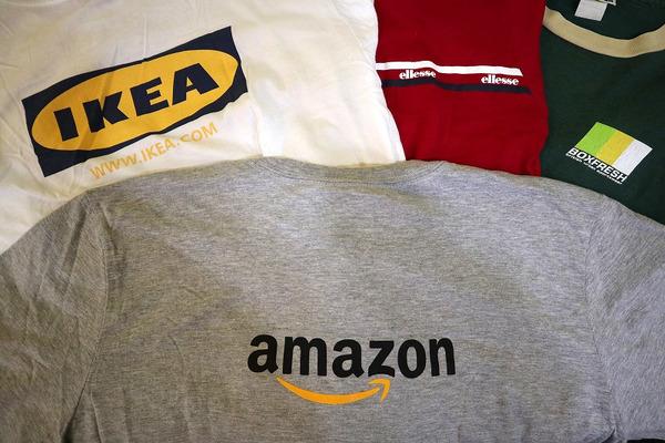 古着ヴィンテージコーナーより、90'sスポーツロゴや企業ロゴTシャツ買取強化しています!!