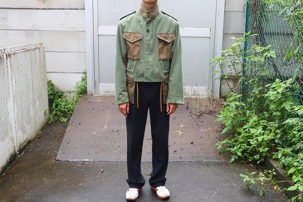 【SOE/ソーイ】ショート丈&ボリューム袖でミリタリーを現代風に〜 Military Spey Wading Jacketが入荷!!【18AW】