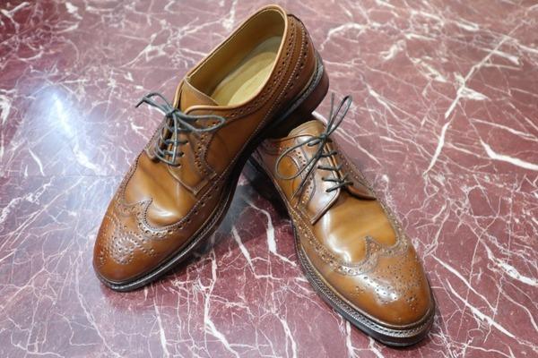 【MEERMIN】スペインの革靴ブランド、シェルコードバンウィングチップシューズが入荷致しました!!