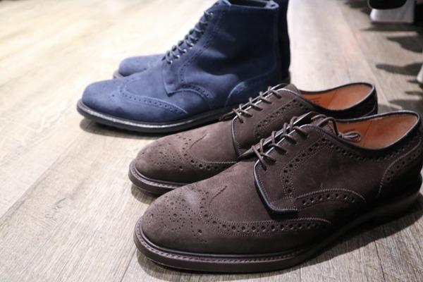 イギリスのグッドイヤーウェルトシューズCHEANEY/チーニーより秋冬にぴったりな革靴が入荷致しました!