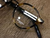 お洒落を始めるなら眼鏡から、OLIVER PEOPLES入荷。