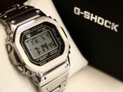 CASIO G-SHOCK(カシオ ジーショク)のフルメタルモデルの腕時計をご紹介