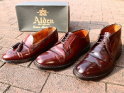在庫数20足以上【ALDEN/オールデン】のコードヴァンが3足同時入荷致しました。
