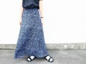 洗練されたデザイン美スカート。【JOHN LAWRENCE SULLIVAN/ジョンローレンスサリバン】