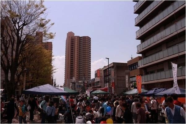 「はなみずき祭りの埼玉 」