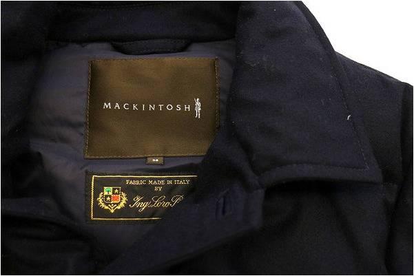 「マッキントッシュのダウンジャケット 」