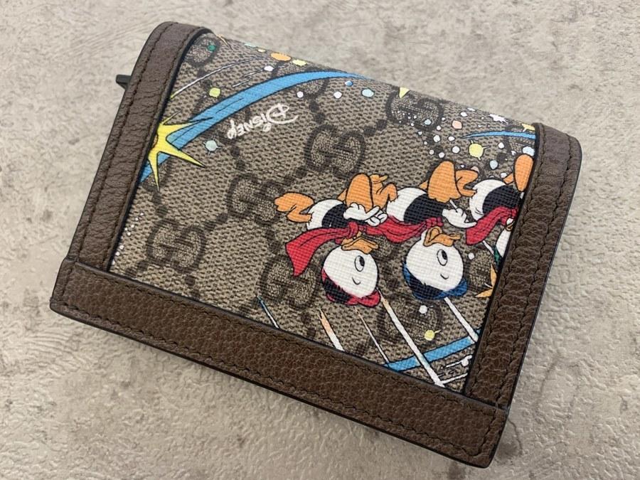 グッチ ディズニーのGGスプリームキャンバス/財布
