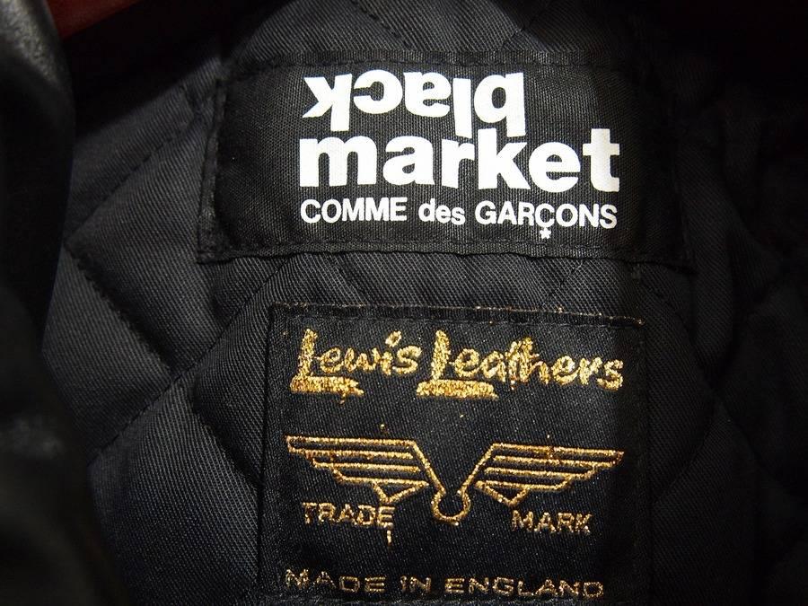【black market CdG×Lewis Leathers】買取入荷です。
