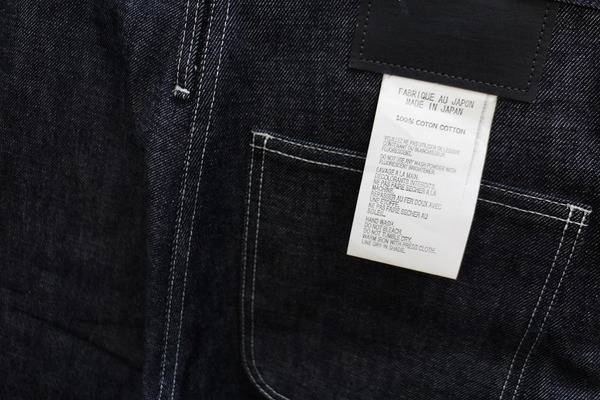 完売品!!TUKI/タイプ3インディゴデニム、FACETASM/フリンジシャツ、一味違ったデザインアイテムを。