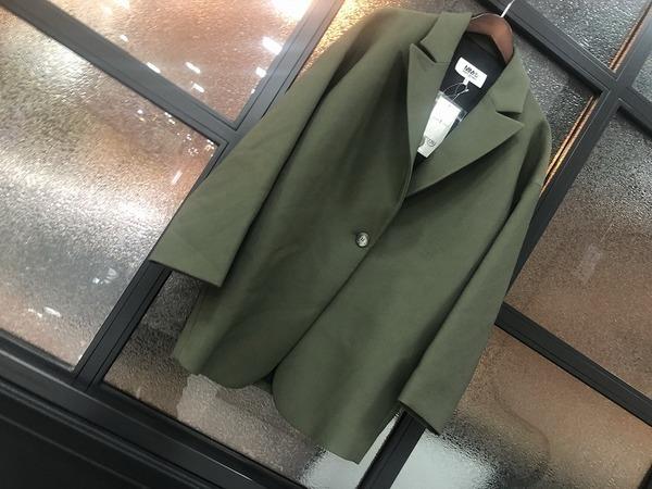 【MM6/エムエムシックス】春に使えるジャケット入荷致しました!!女性の皆様必見です!!
