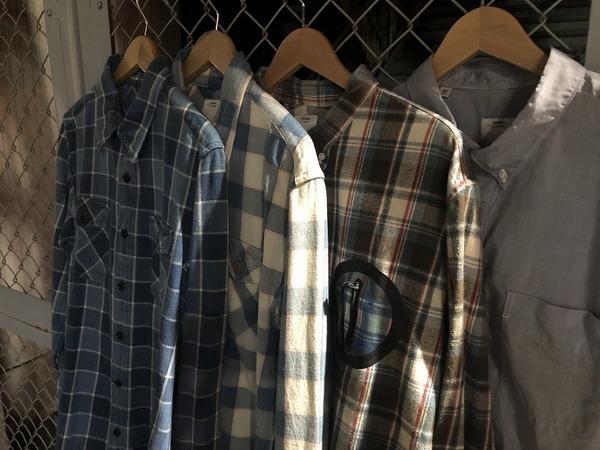 【VISVIM/ビズビム】春に大活躍のシャツ大量入荷しました!!
