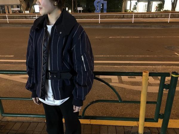 【sacai luck/サカイラック】コットンジップアップジャケット入荷しました!