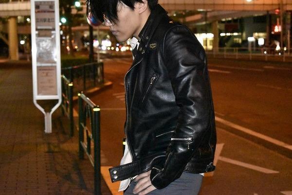 極上のレザー【Lewis Leathers/ルイスレザーズ】男心くすぐるサイクロンモデル。一生モノの一着です。