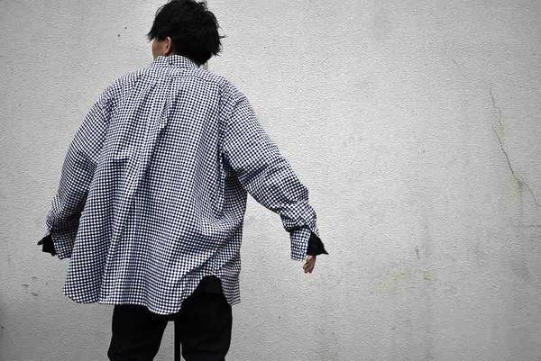 WILLY CHAVARRIA × WISM ビッグドレスシャツ!!!チャバリアらしい独特なシルエットに注目!!!