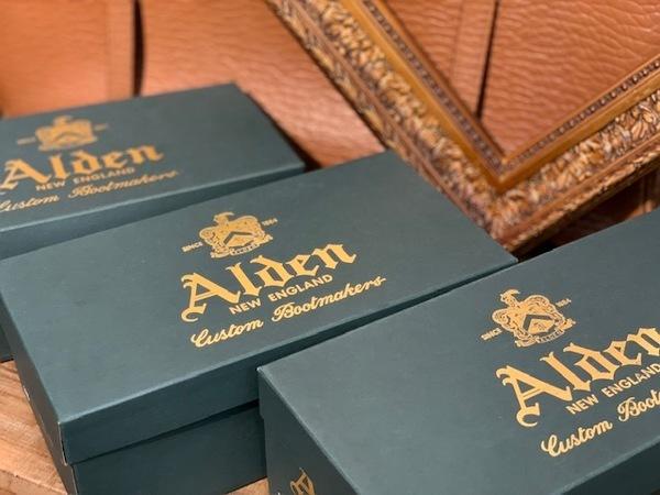【ALDEN/オールデン】米国靴大量入荷!ファン必見アイテムです!!