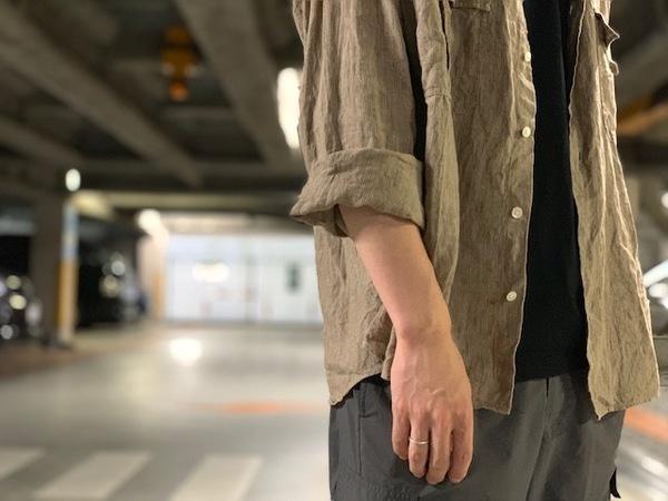 "【Porter Classic/ポータークラッシック】名作""Roll Up Linen Stripe Shirt""19ssの新作が緊急入荷!!"