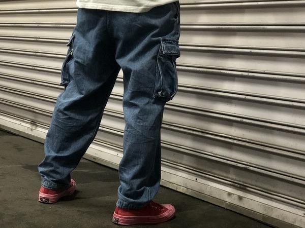 今、履きたいパンツ【BEAMS SSZ/ビームス エスエスジィー】カーゴデニムパンツ入荷しました!