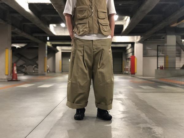 新進気鋭大注目ブランド【SHUNYA KOZUKA/シンヤコズカ】19SS完売モデルのバギーパンツ。【Dickies/ディキーズ】コラボでお届けします。
