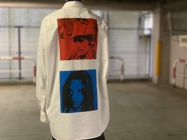 "【Calvin Klein×Andy Warhol/カルバンクライン×アンディ・ウォーホル】""WHITE SHIRT WITH BACK PRINTS"" 入荷致しました!"