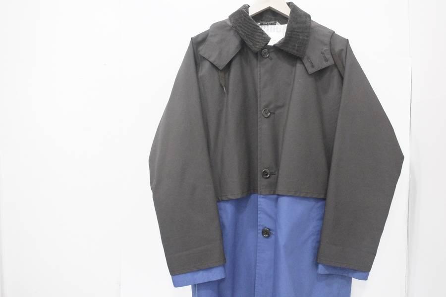 ステンカラーコートのコート