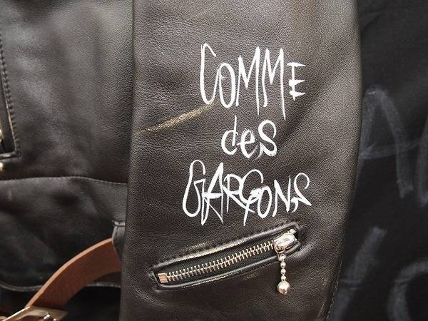 Lewis Leathers/ルイスレザーのcomme des garcons