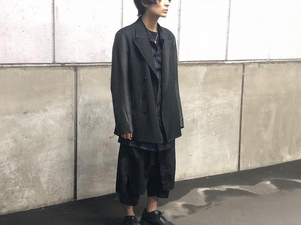 ドメスティックブランドのYohjiYamamoto pour homme