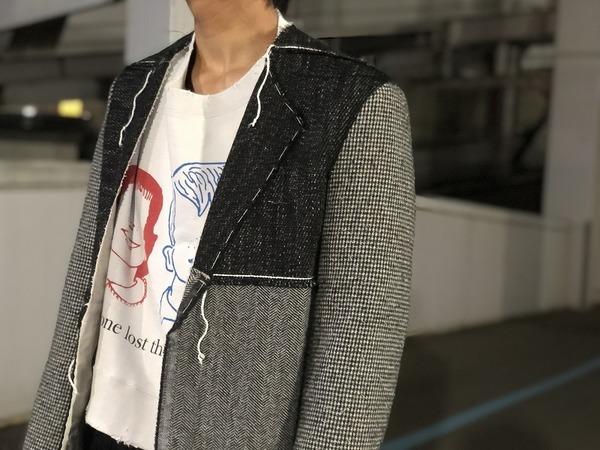 メゾンマルタンマルジェラ14のパッチワークジャケット
