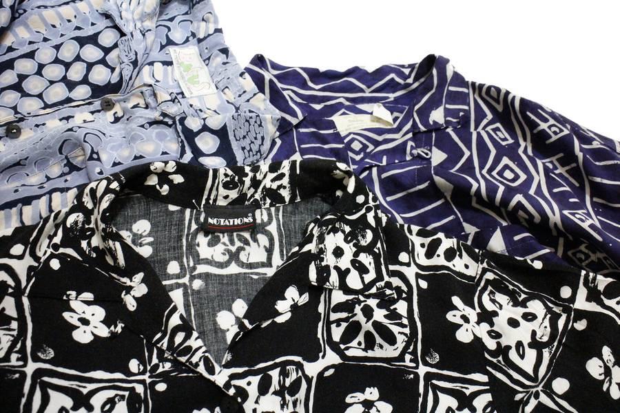 夏だから着たくなる古着の柄シャツ買取いたします!!【トレファクスタイル立川店】