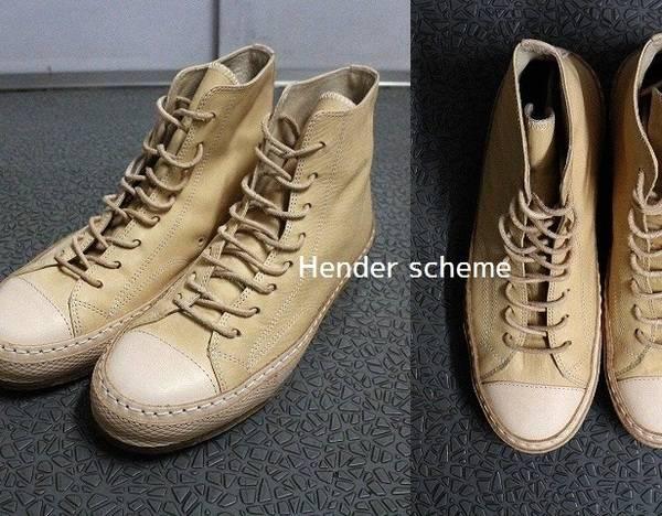 【※緊急入荷※】Hender Scheme/エンダースキーマ、2018AW新作・コンバースオマージュスニーカー【mip-19】