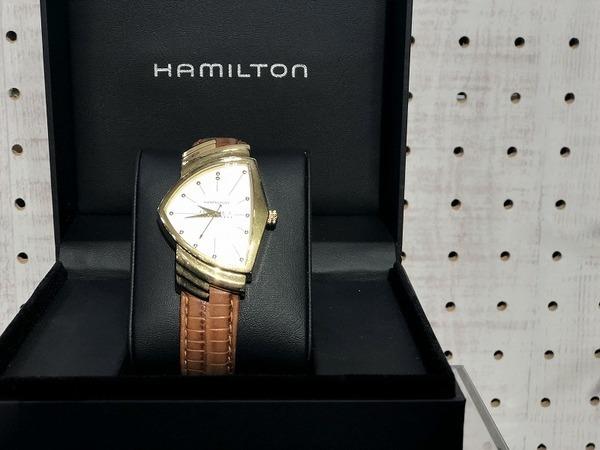 HAMILTON/ハミルトンならではのアイコニックな定番モデル『Ventura/ベンチュラ』