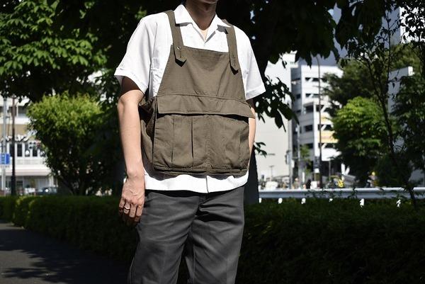 名作!!【BROWN by 2-tacs/ブラウンバイツータックス】鞄いらずのシードイットベストの入荷です!!