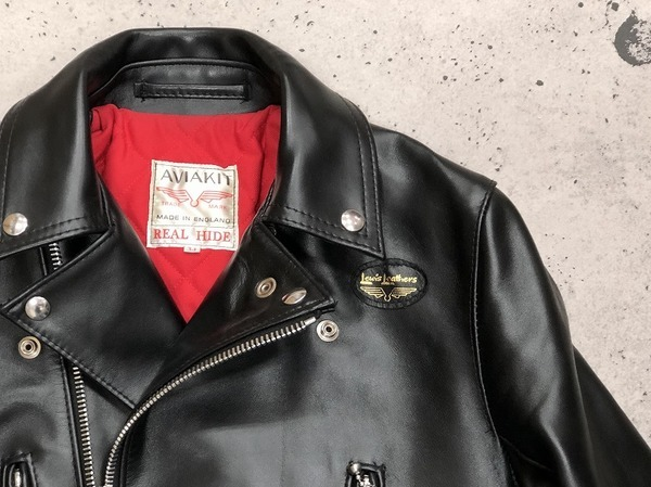 レザーの最高峰【Lewis Leathers/ルイスレザース】ライトニングジャケット入荷しました!