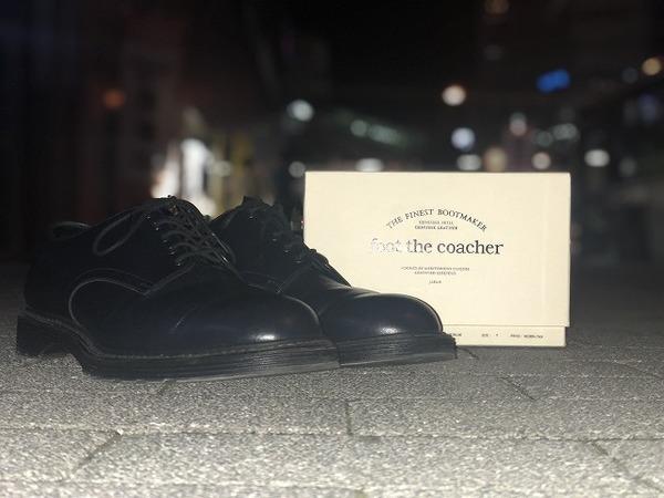 【foot the coacher × スタイリスト私物】【TOKYO】【FTC1834014】大人気コラボモデル入荷!!
