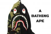 A BATHING APEの大人気シャークパーカーの限定アイテムをお買取しました!